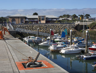 Nautilus Centre at Kilkeel harbour. Picture by Bernie Brown